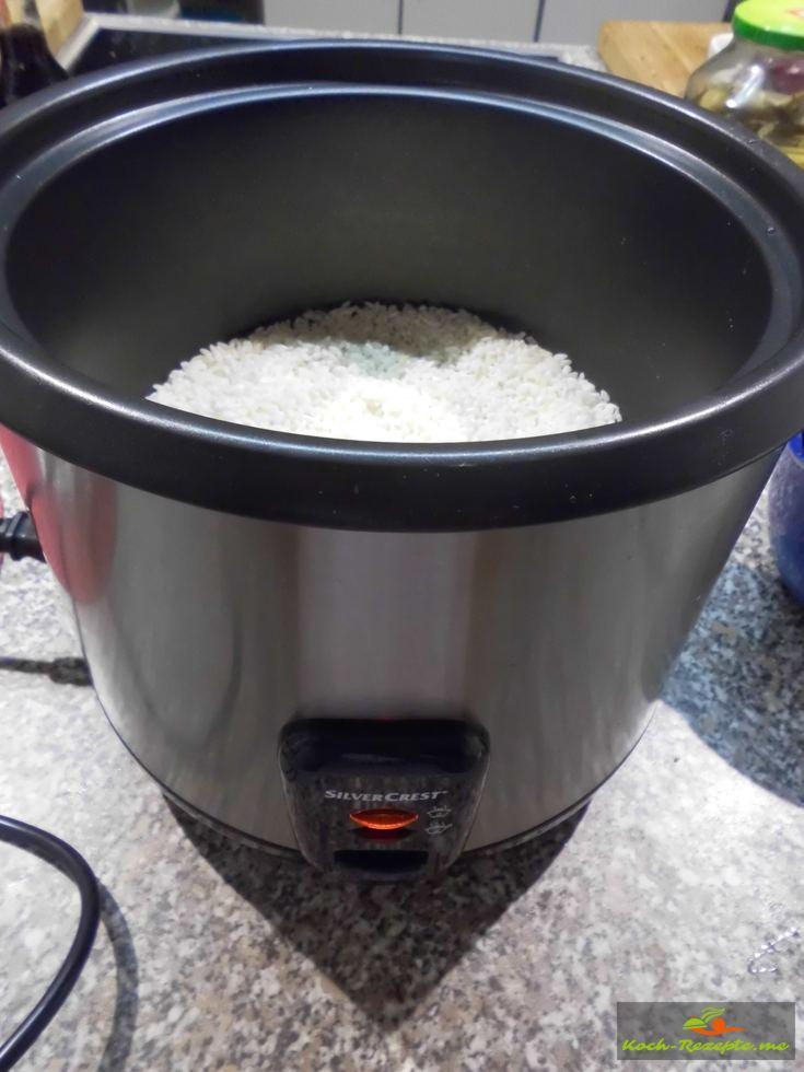 Sushi reis kochen rezept anleitung mit fotos - Reis in der mikrowelle kochen ...