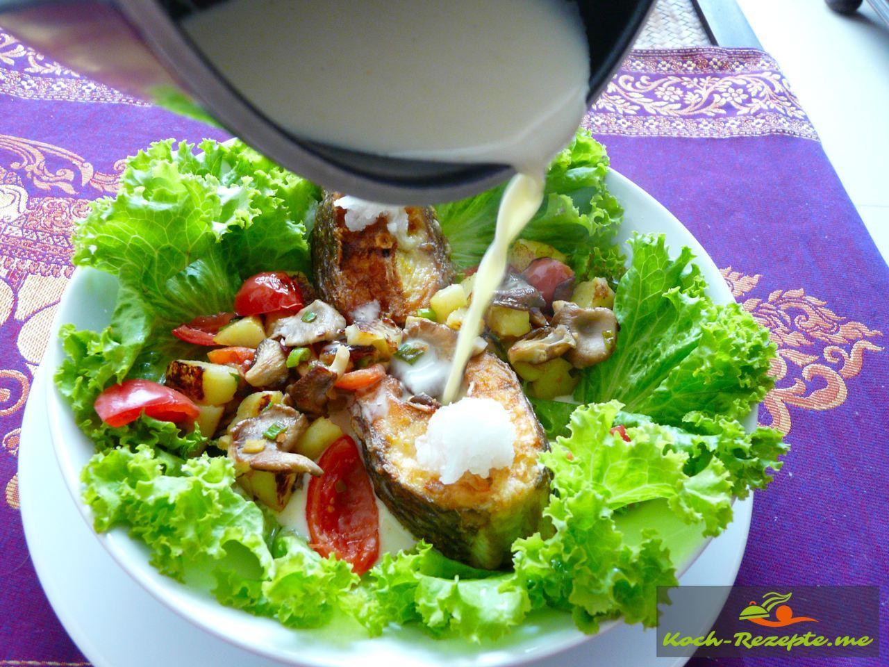 Die Kokos-Curry Sauce