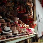 Touristenattraktion hier bekommt man Hüte, Taschen, Souvenirs zu kaufen