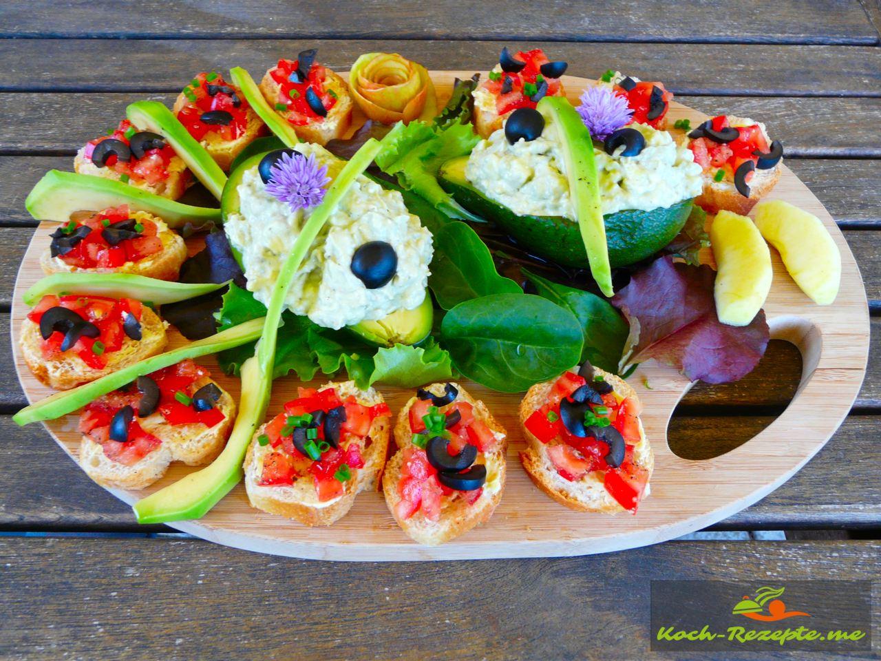 Avocado-Roquefortcreme