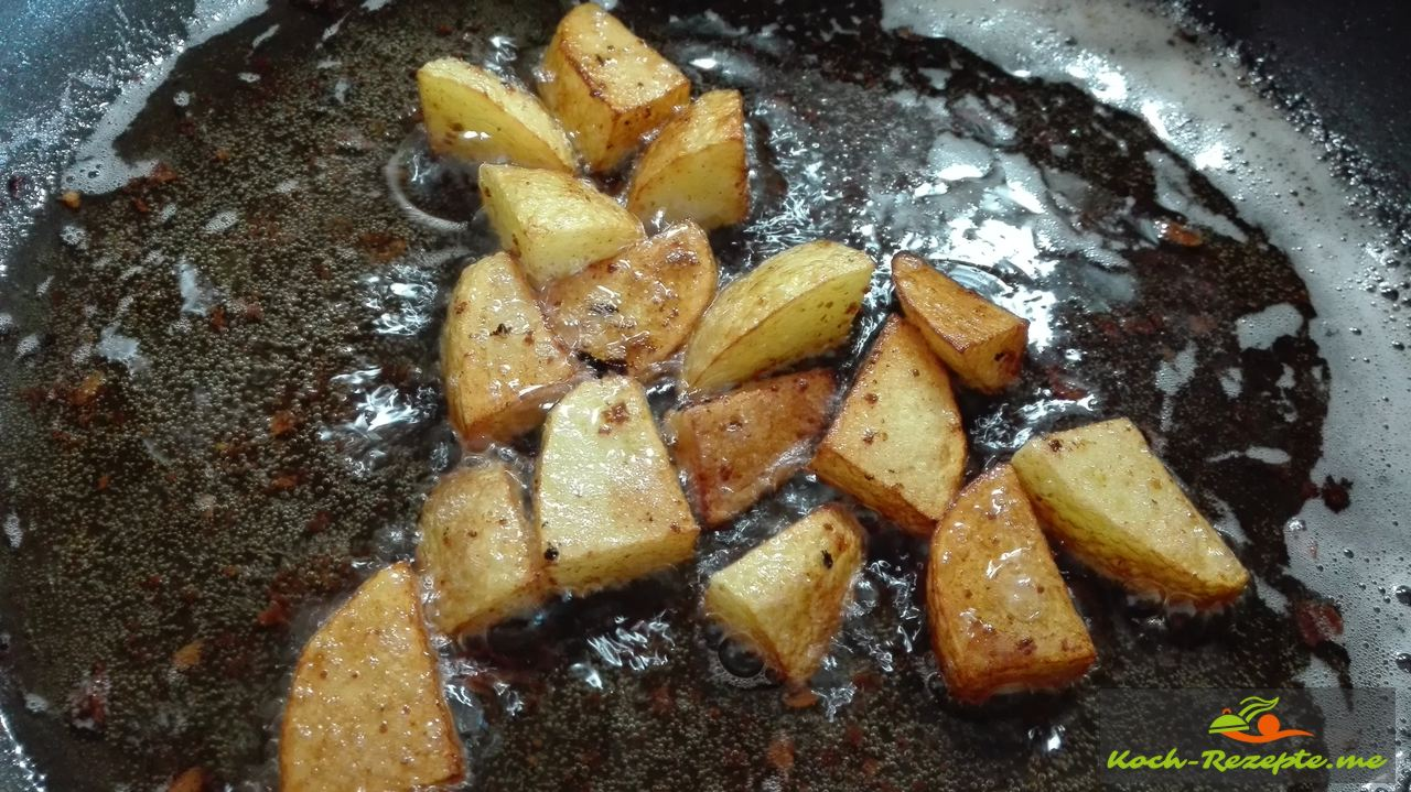 Kartoffel braten