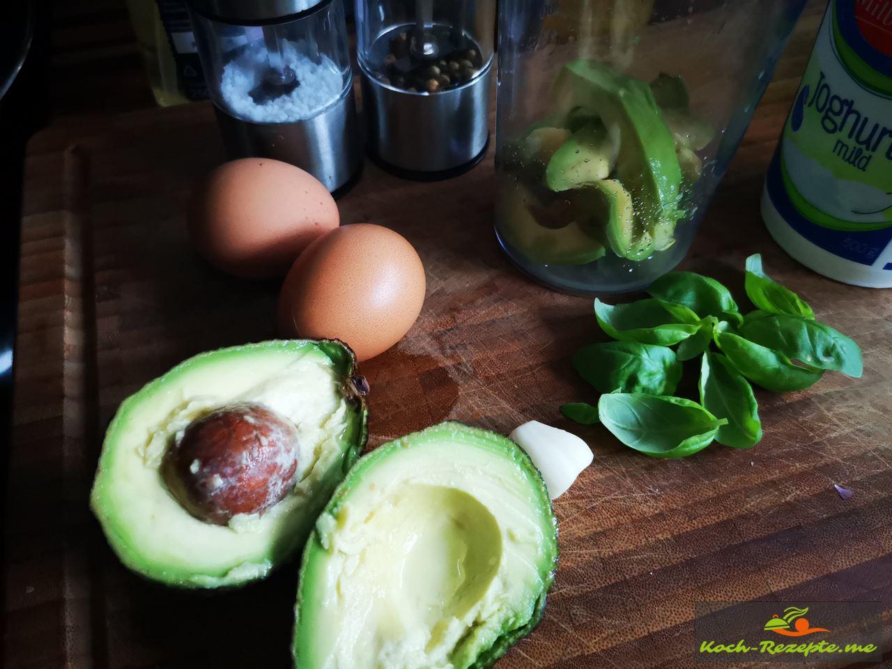 Avocadoreme herstellen