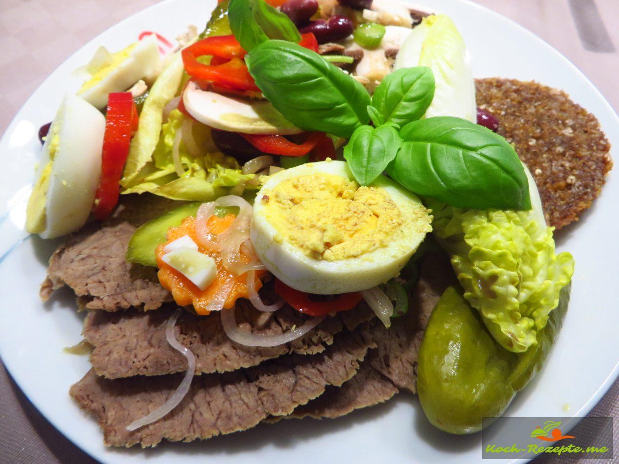Tafelspitz zum Rindfleischsalat