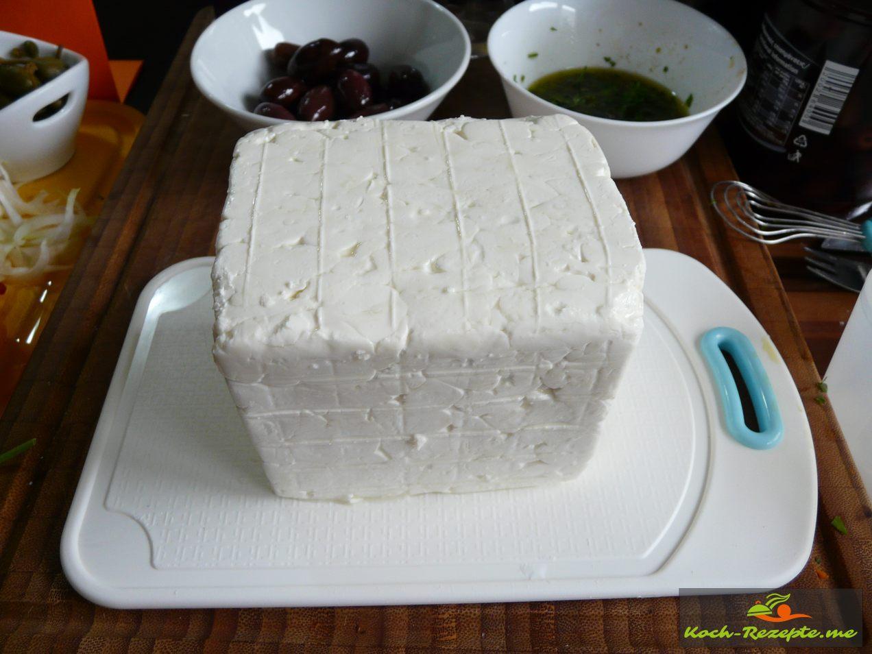 ein Blog Feta Käse