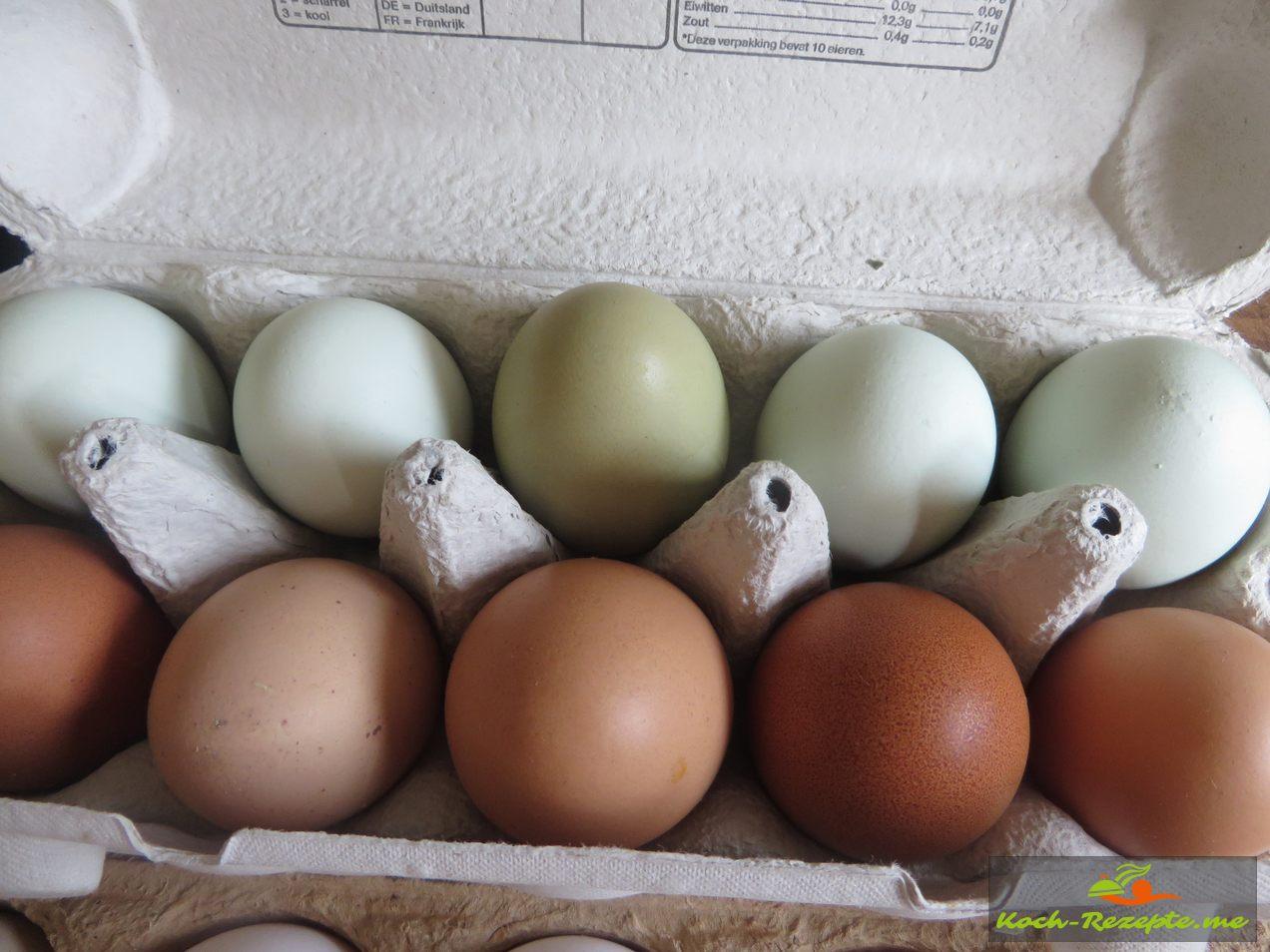 Bio Hühnereier