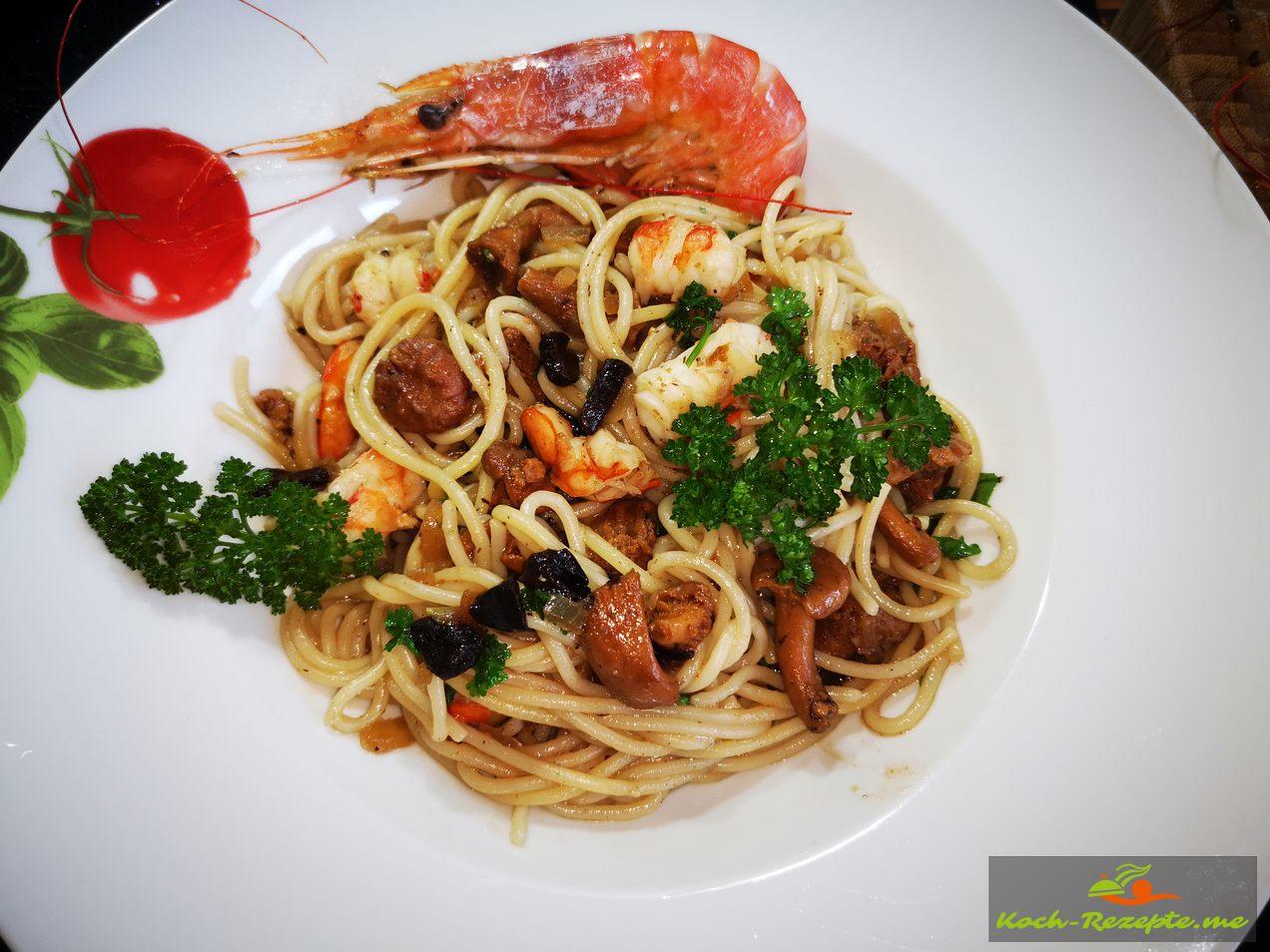 Spaghetti Gericht
