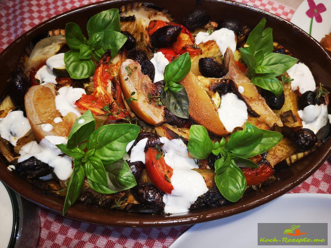 Griechischer Gemüseauflauf