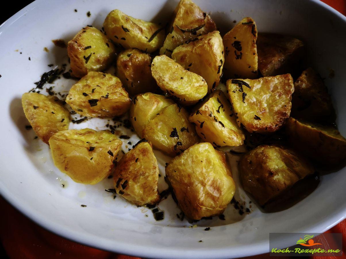 Backofen Rosmarinkartoffeln