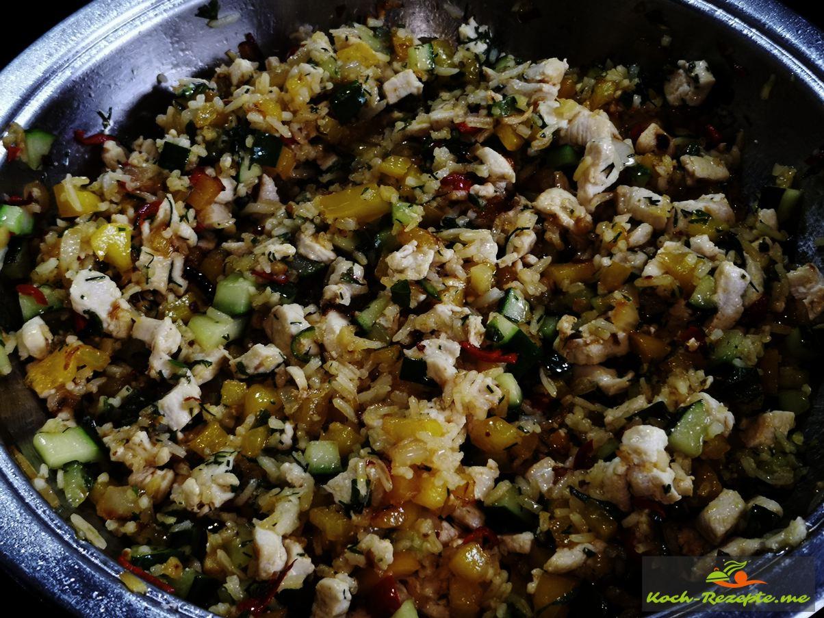 Laap Gai Rezept, Hähnchensalat