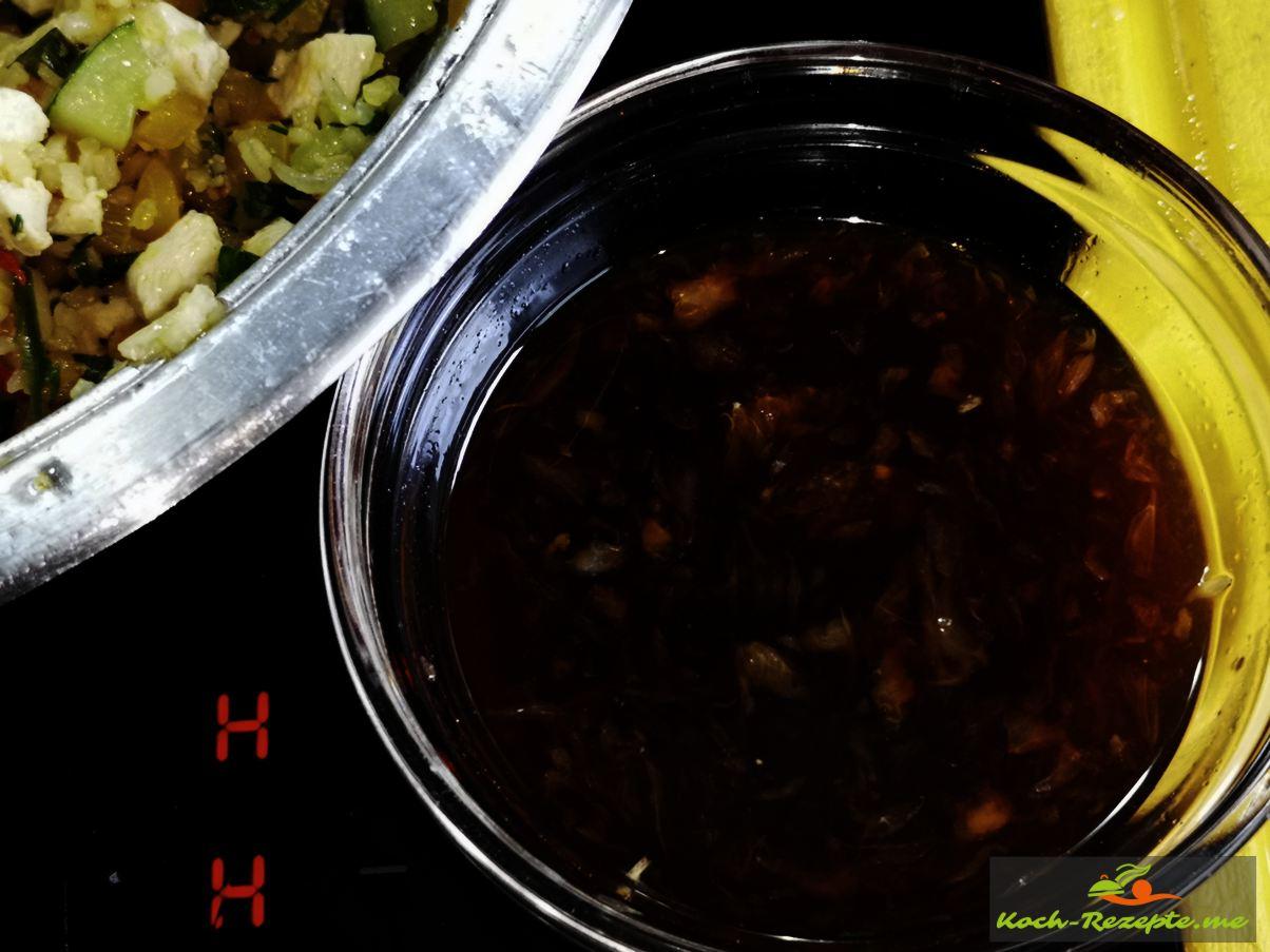 Dressing für Laap Gai Rezept, Hähnchensalat